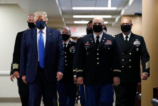 getInterUrl?uicrIvZQ=1fd86d1feb6289efa8485df5b6cfcd13 - Who can pay for the outbreak? The President of the United States wears a mask in front of the camera for the first time, and the American people no longer buy it