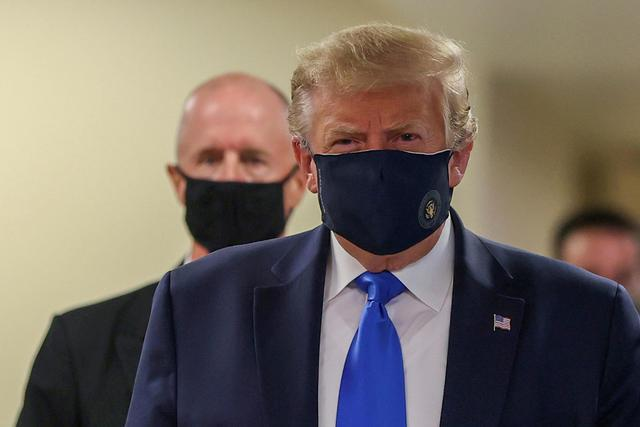 getInterUrl?uicrIvZQ=3abb0c7300e76aa670d289ef14e57be2 - Who can pay for the outbreak? The President of the United States wears a mask in front of the camera for the first time, and the American people no longer buy it