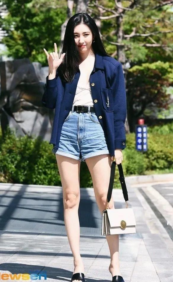 "getInterUrl?uicrIvZQ=4cb4029f757cd819f4dc8d26d52228ee - ""South Korea's legs fine"" Xuan Mei tanned photos, West suit shorts show big long legs, worthy of the representative figure of the women's team"