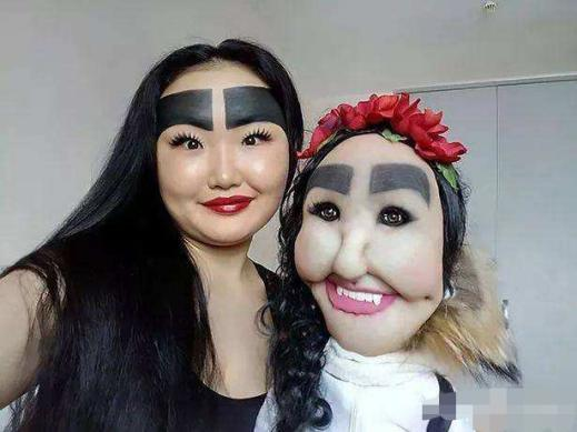 """getInterUrl?uicrIvZQ=58082b627c71b0c644fac7190afde026 - Many years ago, the girl who was obsessed with""""thick eyebrows"""" covered half of his forehead."""