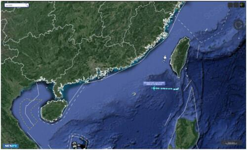 getInterUrl?uicrIvZQ=63c2a397691841d58f476dccff15c77b - U.S. military E-8C aircraft was exposed and appeared again in the South China Sea. It reached the coast of Guangdong, China for the second time in three days.