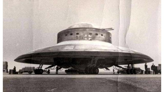 Image result for hitlers flying saucer