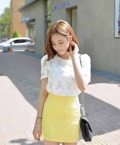 getInterUrl?uicrIvZQ=727b1a787f99bf04dfc0d90c7af61f61 - I was powdered by Guan Xiaotong, this A-line skirt is too advanced, so beautiful