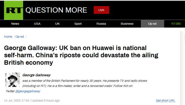 getInterUrl?uicrIvZQ=9dfca955980db0732e84cee43dff15b2 - Blocking Huawei is self-mutilation! Former British MP warned:China's counterattack could destroy the British economy