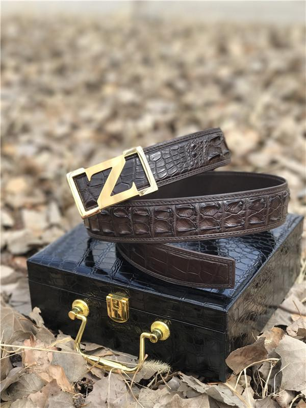 getInterUrl?uicrIvZQ=ba1e233b1b754f3d738e26f3a1b44e33 - The crocodile skin can be called platinum in leather, and the crocodile belt is simply a man's identity, a symbol of taste