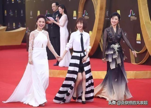getInterUrl?uicrIvZQ=cb59a94f1614eee58003fe279dcb28d6 - Zhou Tao and Lu Yu walked the red carpet in the same frame! Painted red lips wear lace embroidered skirt dignified and noble, so stunningly beautiful