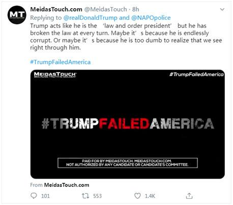 """getInterUrl?uicrIvZQ=cfdcfd7b35ed0ed7bac8bdece423ddac - Just now, the topic of""""Trump Let the United States Fail"""" was ranked first in the US Twitter search"""