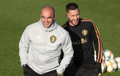 getInterUrl?uicrIvZQ=d148b46eff2d4c31f0e162edd62b8f4e - Martinez:Hazard will succeed in Real Madrid; in my opinion, Courtois is a world