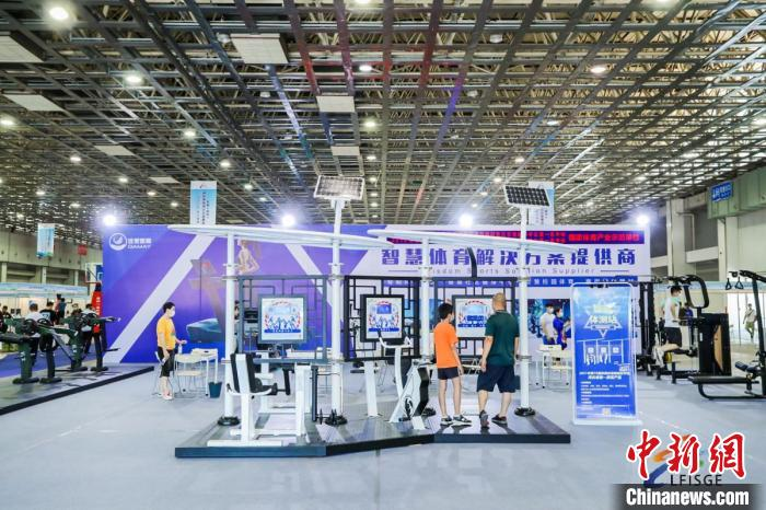 2021 Langfang Sporting Goods and Equipment Exhibition opens to boost the integrated development of the Beijing-Tianjin-Hebei sports industry(1)