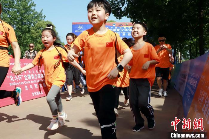 """More than 800 athletes participated in the """"Beidou Cup"""" National Youth Sports Competition Beidou Smart Run"""