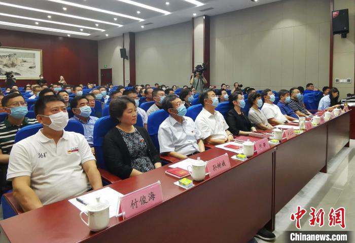 """Shandong, an old revolutionary area, held the first lecture of """"A hundred red commentators on a century of party history""""(3)"""