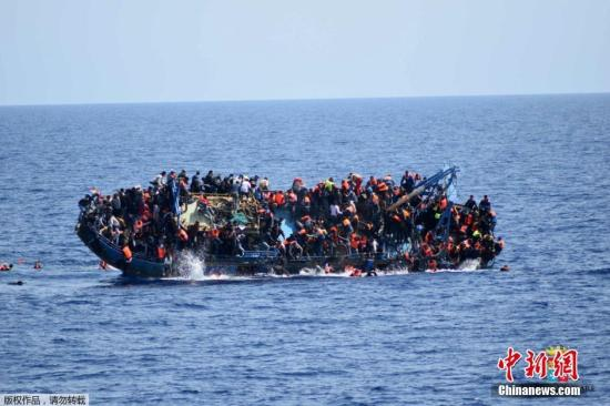 Three people died in the capsize of a migrant ship near a Spanish island