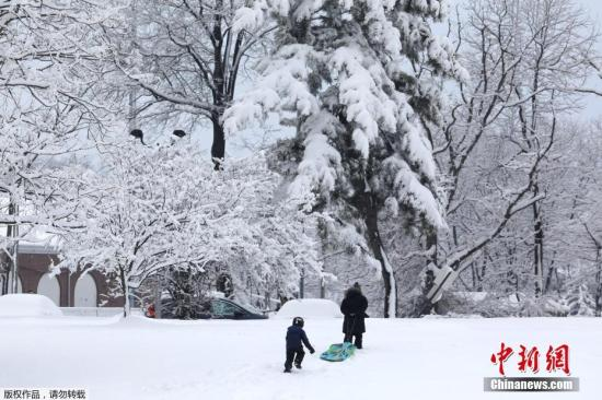 Another winter storm is coming! 150 million people in the U.S. under extreme weather warning(1)