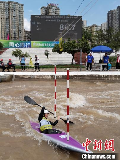 Sichuan Li Lu defends the National Games Women's Single Kayak Champion: This is the best gift for children(1)