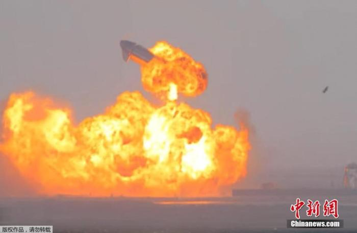 """Musk: SpaceX """"Xingzhou"""" SN11 explosion is caused by methane leak"""