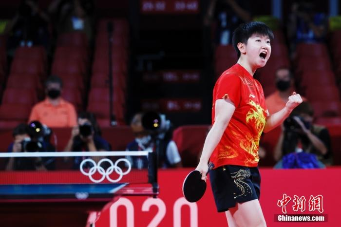 Dialogue丨Sun Yingsha: Liu Guoliang is a role model and strives for full marks in the Paris Olympics(4)