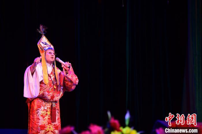 Audiovisual feast, Tibet holds a series of intangible cultural heritage exhibitions(3)