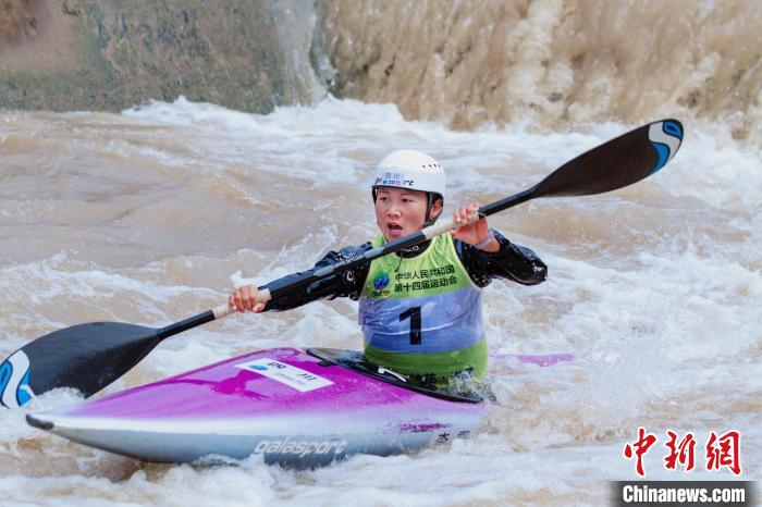 Sichuan Li Lu defends the National Games Women's Single Kayak Champion: This is the best gift for children(2)