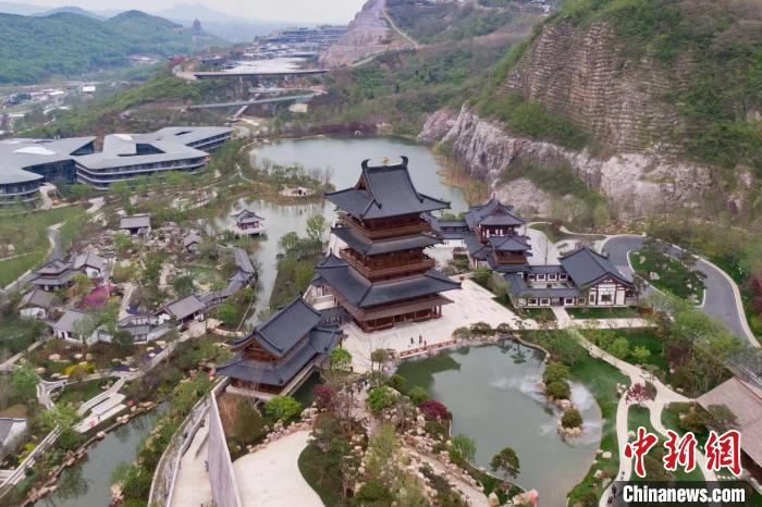 """The city version of """"Peach Blossom Spring"""" debuts in Nanjing: a place where you can enjoy the beauty of gardens(2)"""