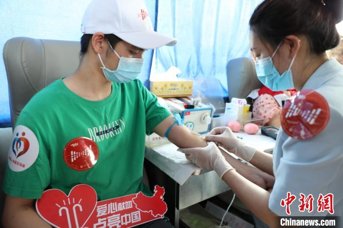 """This year, 1.89 million milliliters of """"love blood"""" from Henan has rushed to aid Beijing, Hebei and Hubei(1)"""