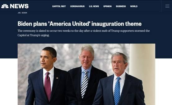 """getInterUrl?uicrIvZQ=3ea76a77a39a16ae9115d4a1a69df12f - """"American Unity""""-Biden's inauguration theme is released, and the three former presidents will""""reunite"""""""
