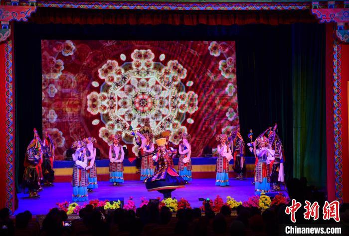 Audiovisual feast, Tibet holds a series of intangible cultural heritage exhibitions
