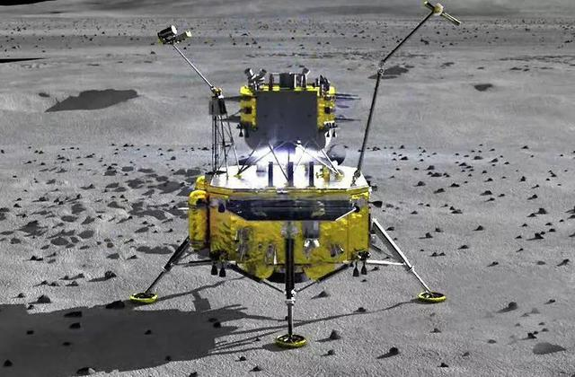 """getInterUrl?uicrIvZQ=4cf81f4f9da463c199760e5b5674fd5b - Exciting!""""Chang'e 5"""" is about to land on the moon, and will achieve the first feat of no one taking the moon"""