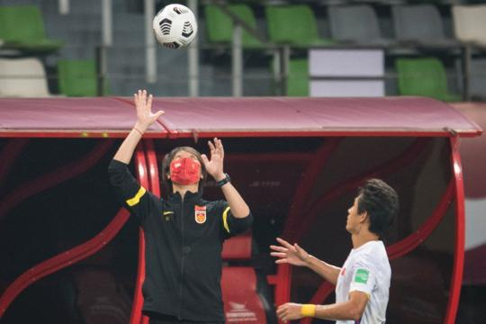 World Preliminary 40 Finals: National Football 7-0 victory over Guam(5)