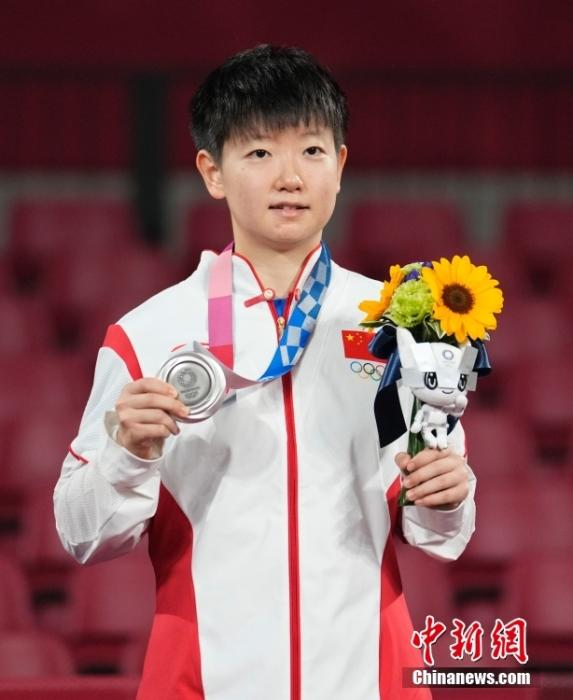 Dialogue丨Sun Yingsha: Liu Guoliang is a role model and strives for full marks in the Paris Olympics(2)