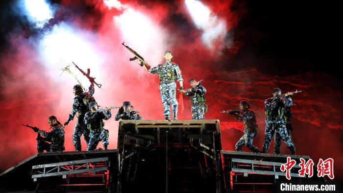 """Military drama classic """"Soldiers·Country Events"""" staged to welcome the Army Day(1)"""