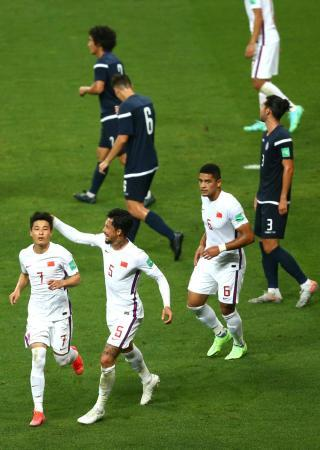 World Preliminary 40 Finals: National Football 7-0 victory over Guam(14)