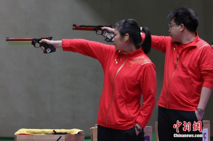 China's shooting Olympics won 4 golds, 1 silver and 6 bronzes(2)