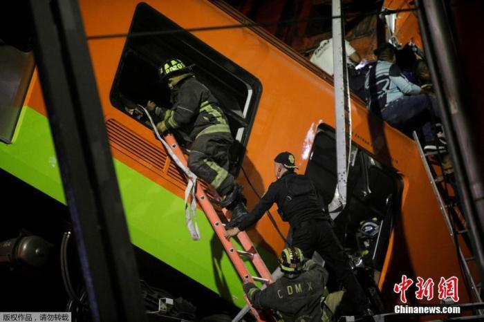 At least 13 dead in Mexico City subway derailment
