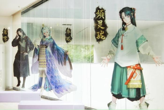 """""""Contemplation"""" Guofeng Art Exhibition restores the fairyland in the play, director Tan Guoman"""