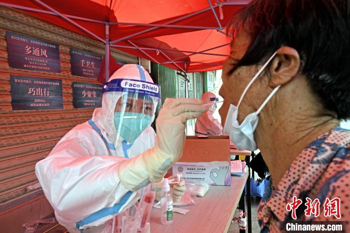 Quangang District, Quanzhou City, Fujian Province, launches nucleic acid testing for all employees(1)