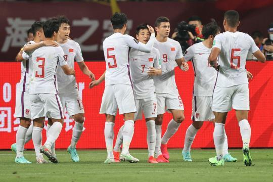 World Preliminary 40 Finals: National Football 7-0 victory over Guam(10)
