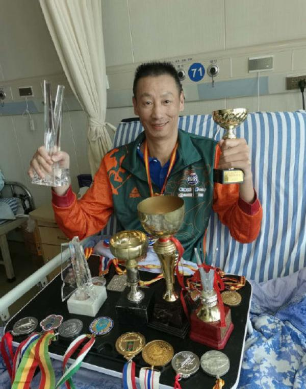 getInterUrl?uicrIvZQ=81a2727364add1939ed6abe2d827fd26 - Former Chinese men's volleyball player Zheng Liang paralyzed with spinal cord disease, he initiated online fundraising for the treatment