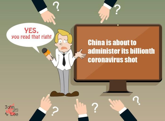 """China News Service: CNN reported that China's vaccination is called """"China News Network"""". What is the """"double standard""""?(2)"""