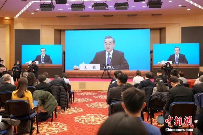 "Wang Yi: China's determination to promote international cooperation on the ""Belt and Road"" has not changed"