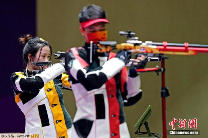 China's shooting Olympics won 4 golds, 1 silver and 6 bronzes(1)