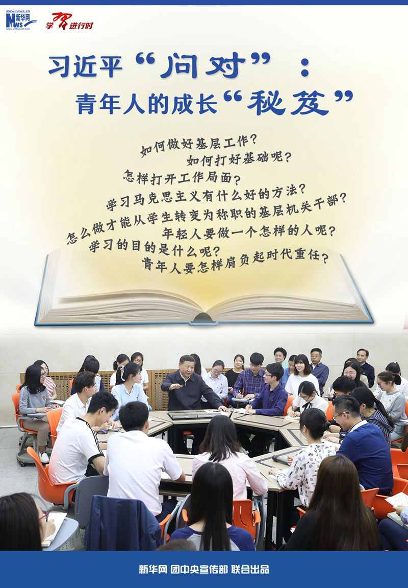 """When learning is in progress丨Xi Jinping's """"Ask the Right"""": The """"Secrets"""" of Young People's Growth"""