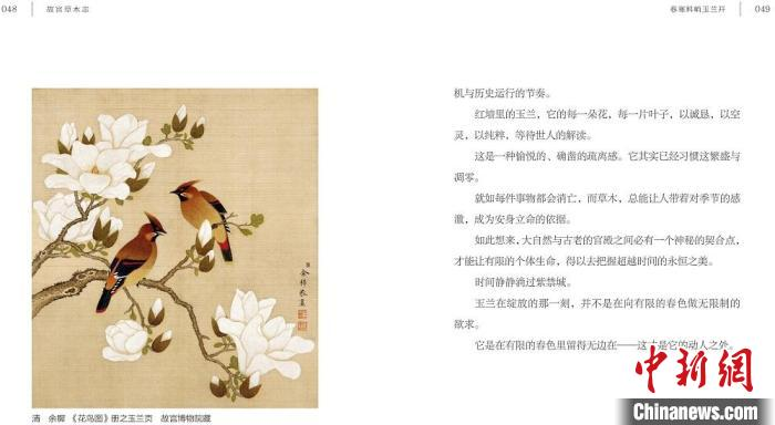 """In spring, bring """"The Forbidden City Grass and Trees"""" to """"check in"""" to enjoy the flowers(1)"""