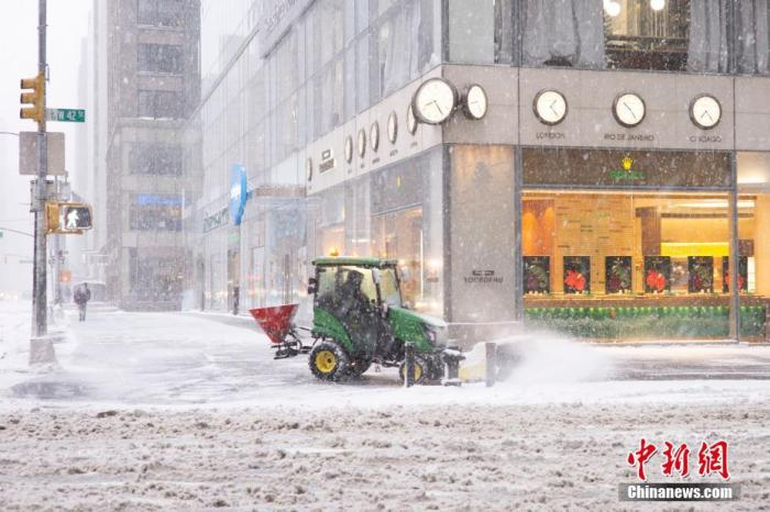 Another winter storm is coming! 150 million people in the U.S. under extreme weather warning