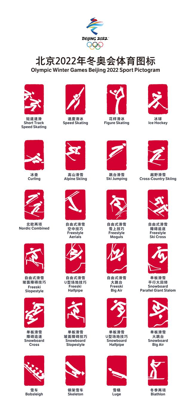 getInterUrl?uicrIvZQ=b23411d1d40934ed15efa944270e8ca4 - The sports icons for the Beijing 2022 Winter Olympics and Paralympics are officially released, reflecting the combination of winter sports and Chinese culture