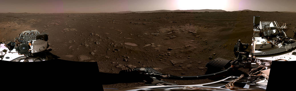 """NASA announces new video of Perseverance, invites you to listen to the """"sounds"""" of Mars (photo)(1)"""