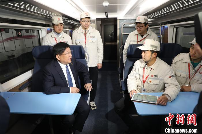 """""""Representative of Locomotive"""" Zhou Qinghe: It is recommended to support Zhuzhou to cultivate a world-class rail transit equipment industry cluster"""
