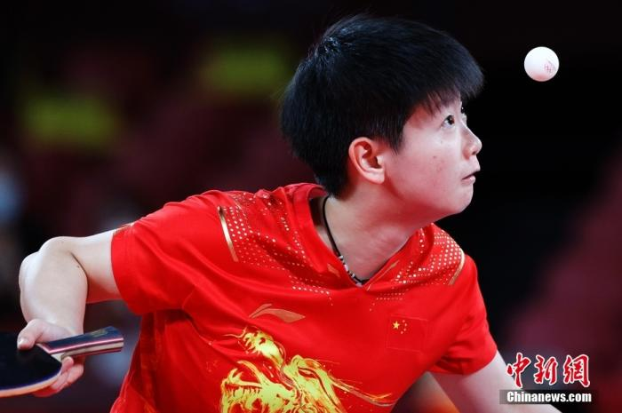 Dialogue丨Sun Yingsha: Liu Guoliang is a role model and strives for full marks in the Paris Olympics(3)