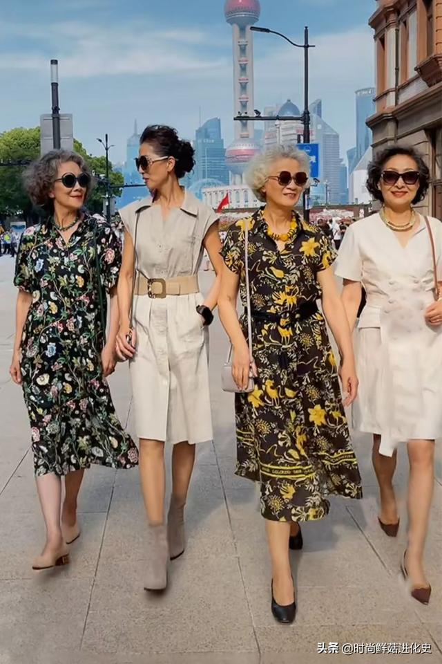 getInterUrl?uicrIvZQ=c545f4d5263a008422c09960e5f5f534 - Old people don't understand fashion? This group of average 65-year-olds wear fashion, elegant and fashionable