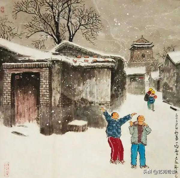 getInterUrl?uicrIvZQ=c6bd5dc5ef7c6c583a49e752d2cf5125 - He painted the childhood of those born in the 70s and 80s, and the pictures are touching. Netizens:I can't go back.