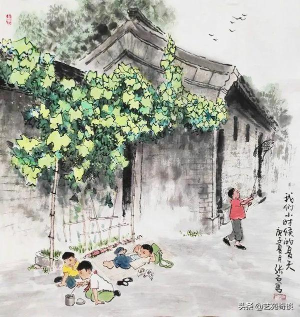 getInterUrl?uicrIvZQ=cb8000862183e9e5e8745d912233bca2 - He painted the childhood of those born in the 70s and 80s, and the pictures are touching. Netizens:I can't go back.